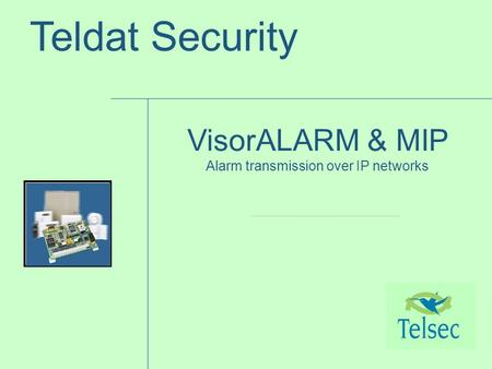 Alarm transmission over IP networks