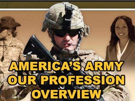 LEARNING OUTCOMES. Recognize and be able to discuss: Army professionals: Receive, discuss, and reflect on the concepts and terms contained within ADRP.