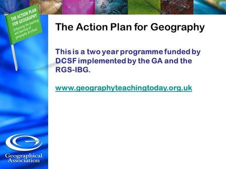 Geography Teachers' Tool Kit