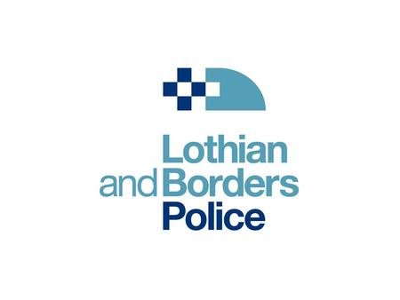 LBP logo. work with us Paddy Griffiths Property Manager Lothian and Borders Police