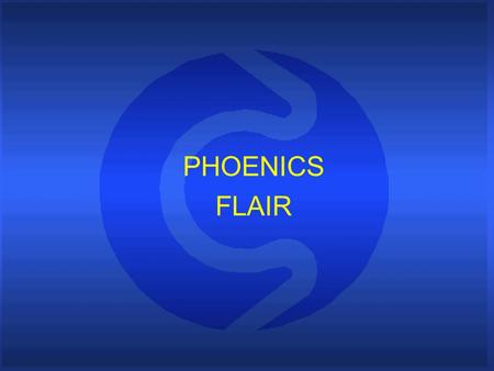 PHOENICS FLAIR. Introduction The aim of this presentation is to outline recent developments in the PHOENICS special-purpose program FLAIR, and show some.