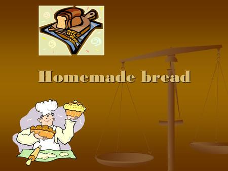 Homemade bread. It is simple to create a light airy loaf of bread. All you need are a few basic ingredients – flour, yeast, salt and water. The most important.