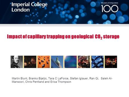 Impact of capillary trapping on geological CO2 storage
