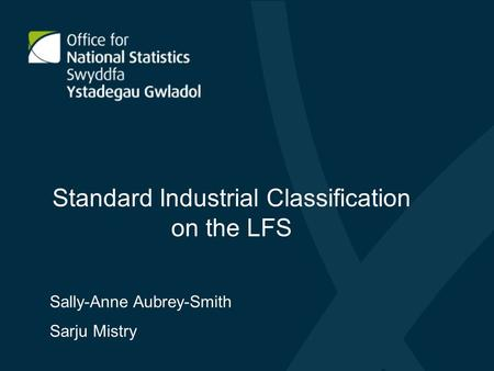 Standard Industrial Classification on the LFS
