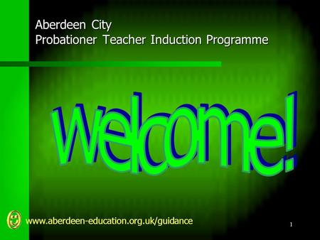 Www.aberdeen-education.org.uk/guidance 1 Aberdeen City Probationer Teacher Induction Programme.