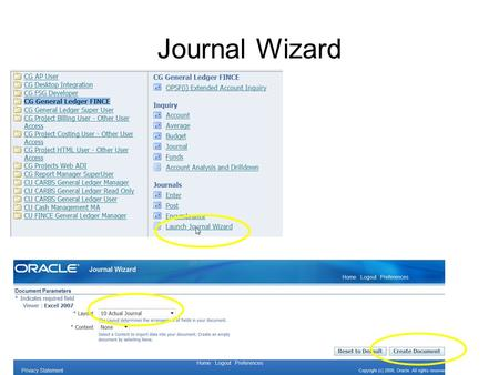 Journal Wizard. 1.Left click bar 2.Select Download File 3.Select Open.