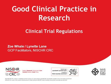 Good Clinical Practice in Research Clinical Trial Regulations