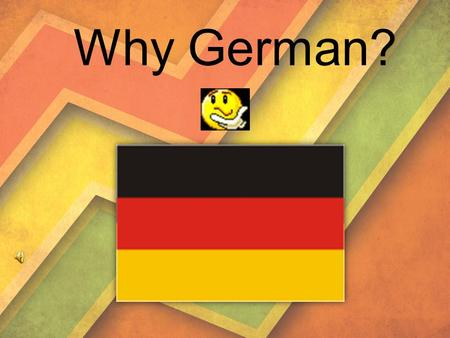 Why German?. At first you may say that there is no difference between Germans and Russians. Different cultures, different languages, different world outlooks…