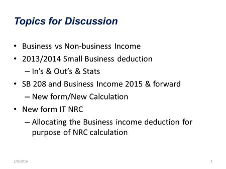 The revised texas franchise tax ppt download topics for discussion business vs non business income 20132014 small business deduction fandeluxe Images