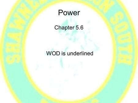<strong>Power</strong> Chapter 5.6 WOD is underlined. Question A 2400 kg car can slow from 10 m/s to rest in 3.2 meters.If the car has traditional friction brakes, what.
