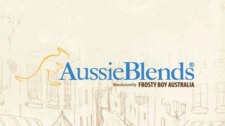 as a partner AussieBlends® and Frosty Boy Australia® engaged a partnership to craft high quality powdered bases for the USA and Latin America palate.