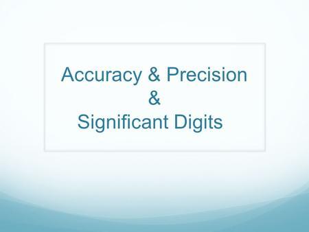 Ch 2 Measurement Units Of Measurement Ppt Download