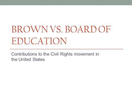 board education