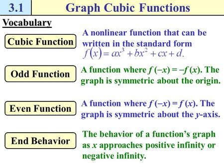 Objective To Us The Vertex Form Of A Quadratic Equation 5 3