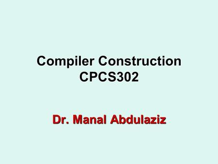 Download ebook compiler construction