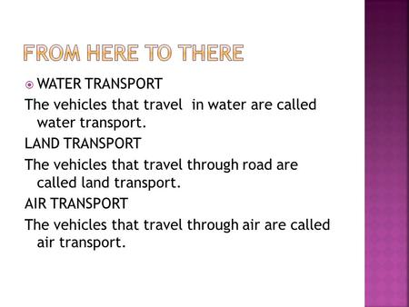 TYPES OF AIR TRANSPORTATION - ppt video online download
