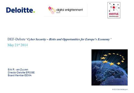 Deloitte risk Intelligence Map