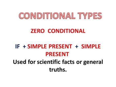 If Condition Grammar Done By Samiha El9a7rah Com Ppt