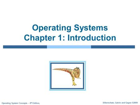 operating systems concepts