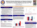 Adolescent Romantic Relationships and Depressive Symptoms: The Importance of Emotion Regulation and Close Friendships Introduction David E. Szwedo