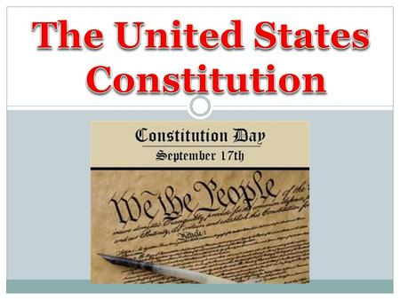 "The Constitution is the United States' fundamental law The Constitution is the United States' fundamental law It is also ""the supreme Law of the Land"""