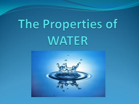 What is so special about water? It is the most abundant compound in most living things Water is the only compound that exists in all 3 phases (solid,