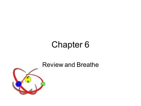 Chapter 6 Review and Breathe. The Wave Nature of Light Electromagnetic radiation is one way energy travels through space. Wavelength is inversely proportional.
