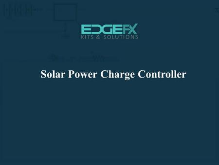 <strong>Solar</strong> Power Charge Controller. <strong>Solar</strong> Power Charge Controller Introduction  A charge controller, or charge regulator is basically.