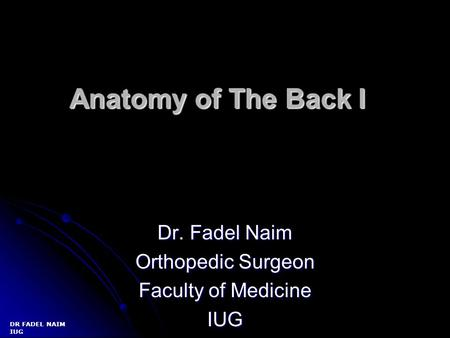 Normal Radiographic Spinal Anatomy Ppt Video Online Download