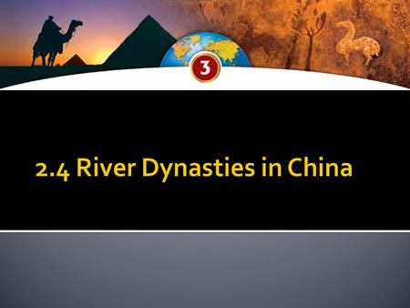  Barriers Isolate China  Ocean, mountains, deserts isolate China from other areas.