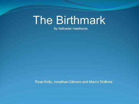the birthmark literary analysis