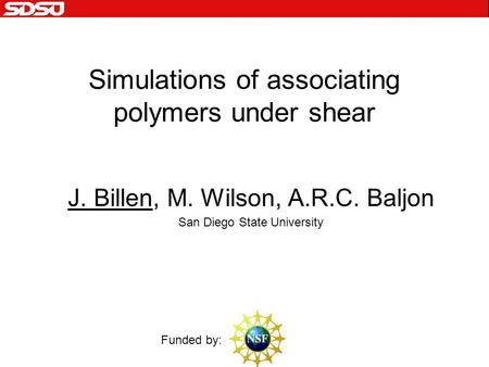 Structure formation melting and the optical properties of golddna simulations of associating polymers under shear j billen m wilson arc baljon malvernweather Choice Image