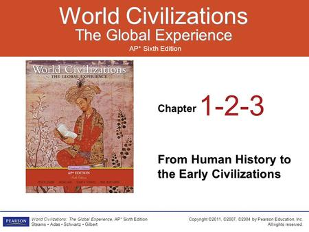 Doc Holley's AP World History Chapter 1 From Human