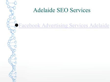 Adelaide SEO Services Facebook Advertising Services Adelaide.
