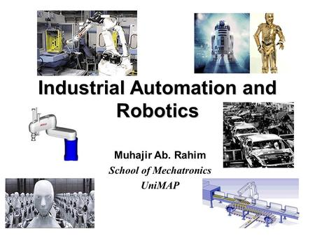 What is a Robot? Definition of Robot Webster: - ppt video online
