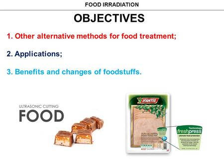 B  NOVEL METHODS OF FOOD PROCESSING AND PRESERVATION - ppt video