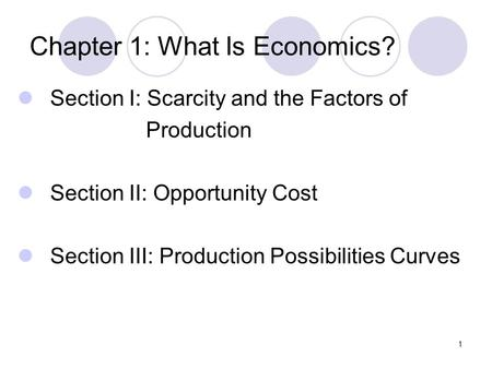 Economics Basics Definitions Factors of Production Scarcity and
