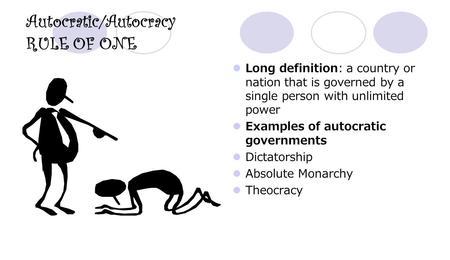autocracy dictatorship examples - 1248×720