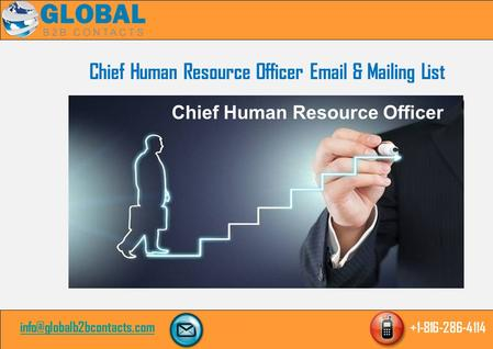 Chief Human Resource Officer  & Mailing List Chief Human Resource Officer.