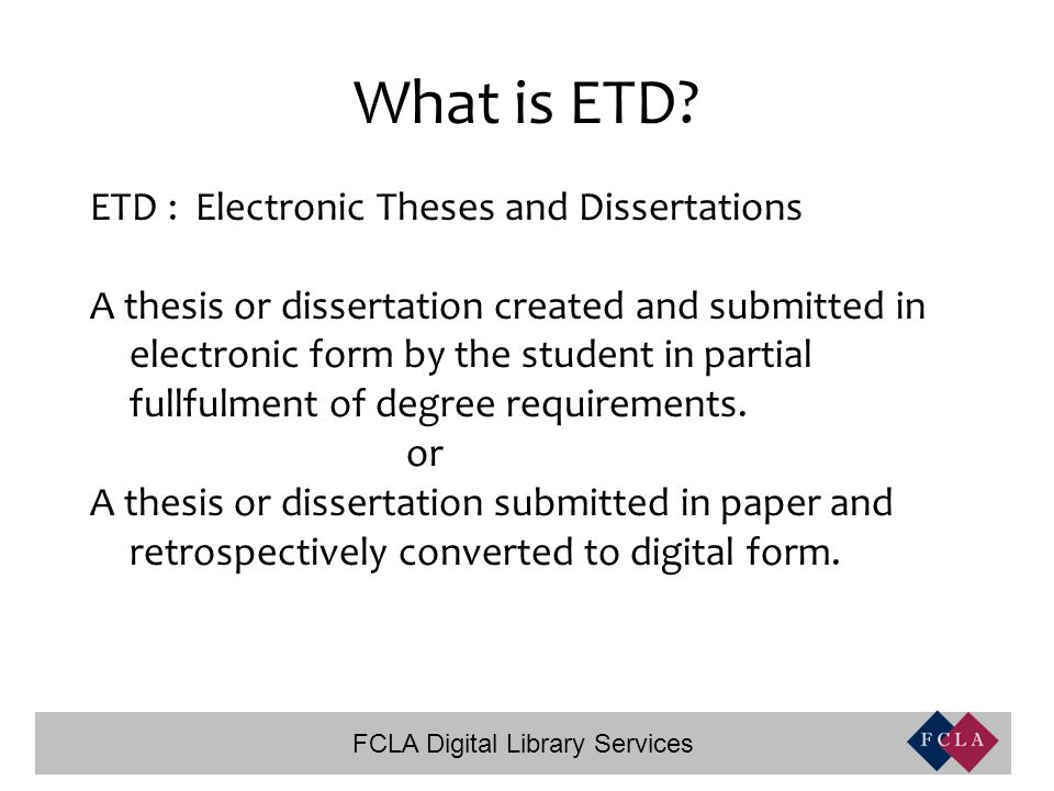 Electronic thesis and dissertation bfa creative writing