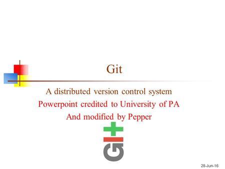 using Git/Tortoise Git - ppt video online download