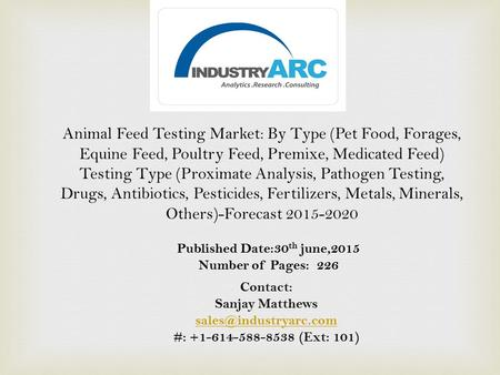 Animal Feed Additive Market Analysis: By Type (Technological