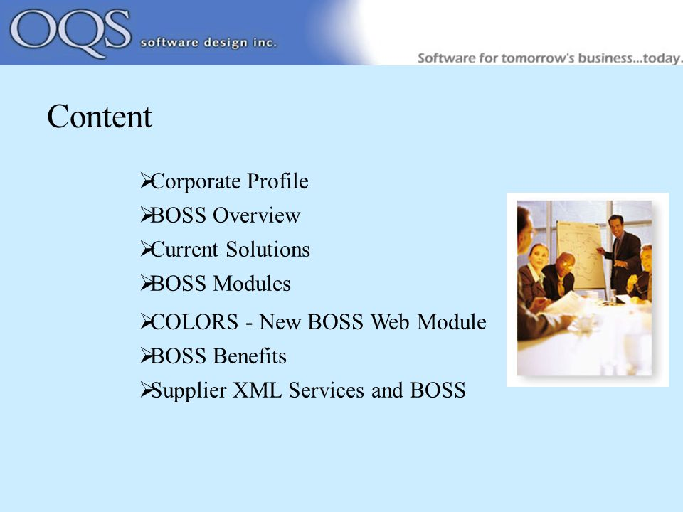 Corporate Profile Boss Overview Current Solutions Boss Modules Colors New Boss Web Module Boss Benefits Supplier Xml Services And Boss Ppt Download Over the time it has been ranked as high as bossweb has the lowest google pagerank and bad results in terms of yandex topical citation index. corporate profile boss overview