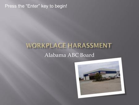 Alabama ABC Board Press the Enter key to begin! Alabama ABC Board.