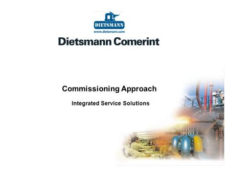 Commissioning Approach Integrated Service Solutions
