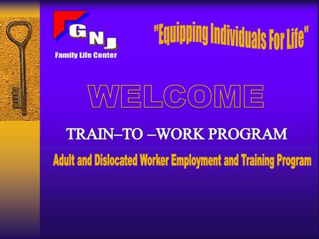 GNJ Family Life Center is a Equal Employment Opportunity Employer Program. Costs associated with this program are funded in part by federal grants from.