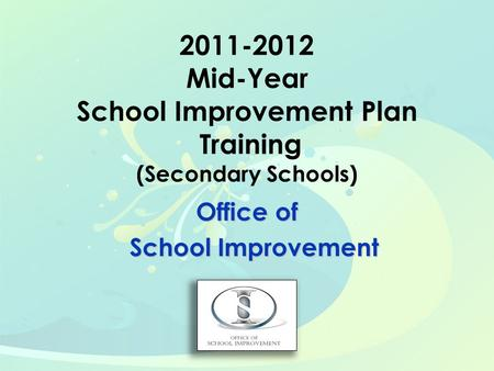 Office of School Improvement School Improvement. To provide Differentiated Accountability (DA) schools with tools, using the Florida Continuous Improvement.