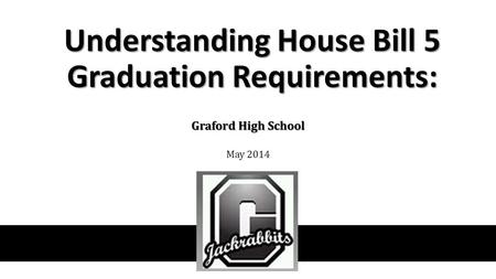 Understanding House Bill 5 Graduation Requirements: