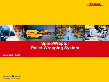 SpinoWraptor Pallet Wrapping System