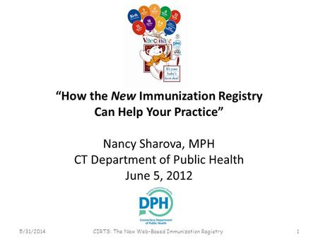 """How the New Immunization Registry Can Help Your Practice"""